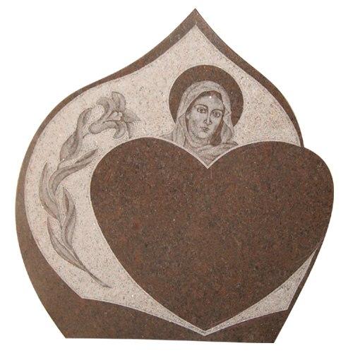 wizerunek na tablicach napisowych - Maryja